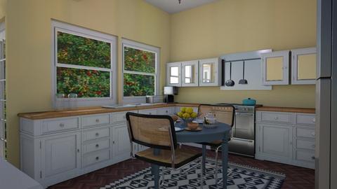 Brownstone Kitchen - Eclectic - Kitchen  - by lauren_murphy