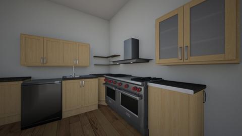 3e ontwerp - Kitchen  - by hans1104