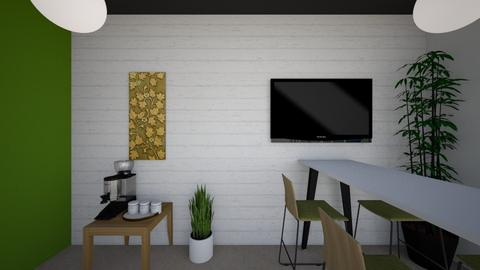 Right hand wall - Minimal - Office - by mgangles