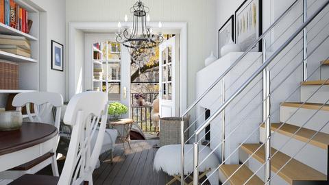 Defoliation - Classic - Living room  - by Leyvna