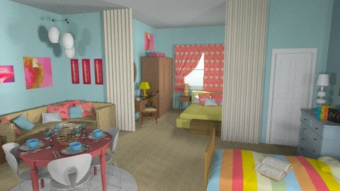 Rhoda Moves to NY - Vintage - Bedroom  - by Patti58