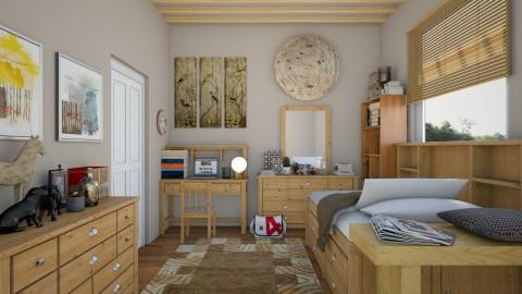 small bedroom - Modern - Bedroom  - by tekle