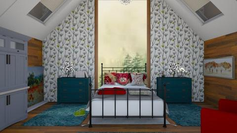 buhardilla - Bedroom  - by wiwa