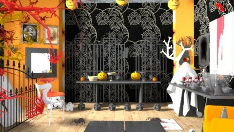 halloween party - Eclectic - Living room  - by shelleycanuck