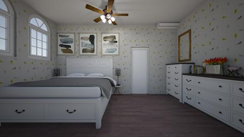 guest bedroom 8 - Bedroom - by GeGe Kanthip