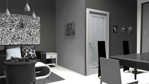 black and white - Glamour - by guayaba soda1