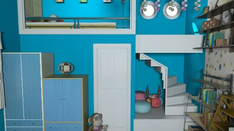 change your mind - Kids room  - by Veny Mully