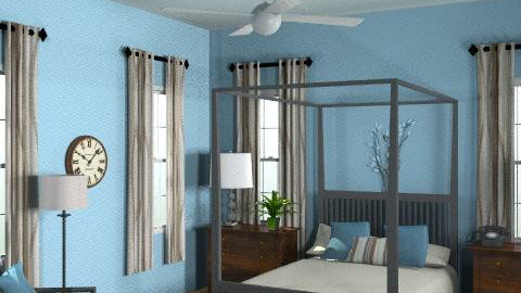 Blue Bedroom - Classic - Bedroom  - by wwrightsc