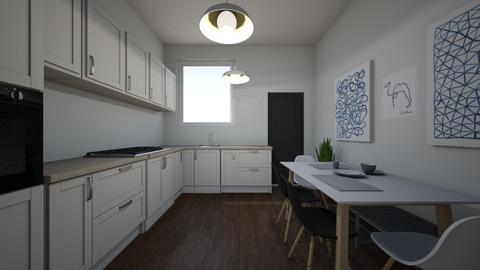 scandi kitchen - Kitchen  - by brooksj646