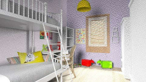 Lia_Itay_87 - Classic - Kids room  - by noga boyarsky