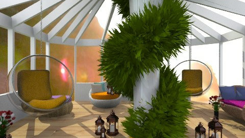 Romcom - Rustic - Garden  - by norli99
