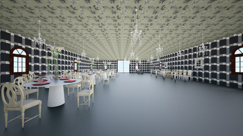 Reception Hall - by TaliaP
