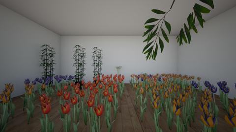 garden  - Modern - by Nardeen3859