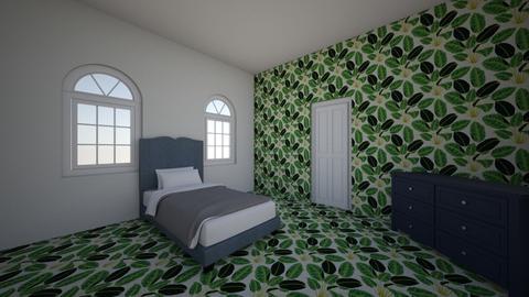 Allies Bedroom - Modern - Bedroom  - by sandystigges