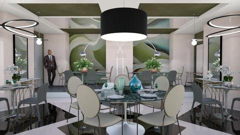Green side - Dining room - by chania