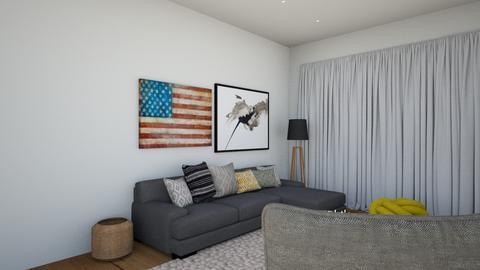 kfar saba apt2 - Eclectic - Living room  - by oritchen