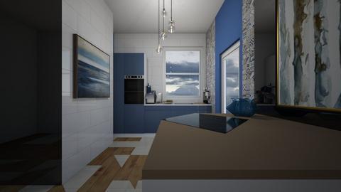 Scandinavian kitchen - Kitchen  - by rechnaya