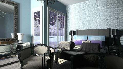 luna landscape - Eclectic - Bedroom  - by martinabb