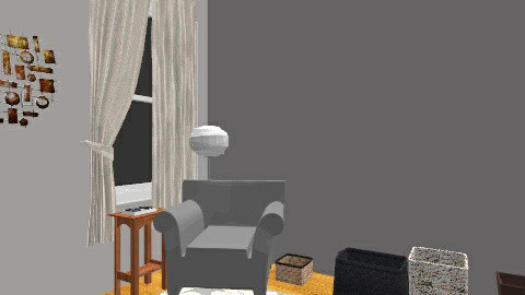 ZenRoom3 - Vintage - Office  - by vkafka13