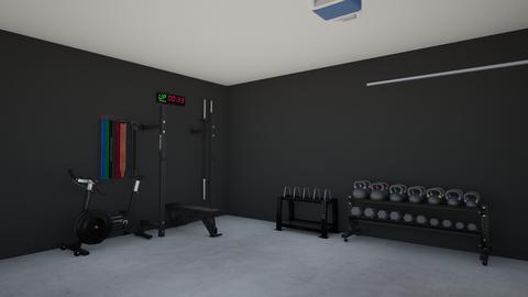 Rojas Garage Gym - by darojas33