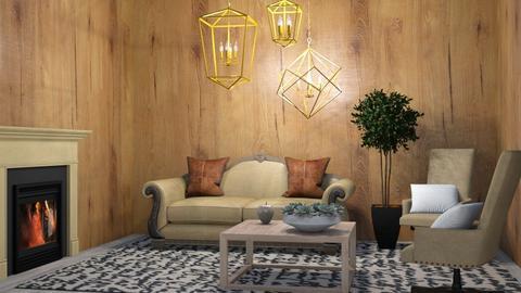 Rust on Rust - Rustic - Living room  - by RoseGrangerWeasly