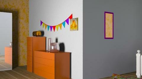 orange x - Eclectic - Kitchen  - by Kimberleyx