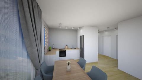 Kuchnia 5b lodowka - Living room - by KatarzynaLaszczyk