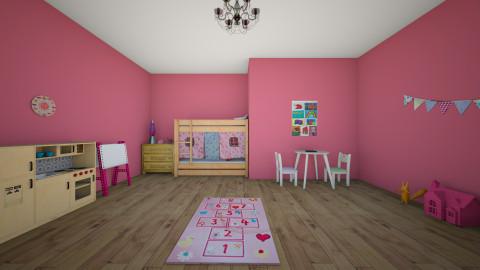 Kids Room 1 - Kids room - by zombiegirl990
