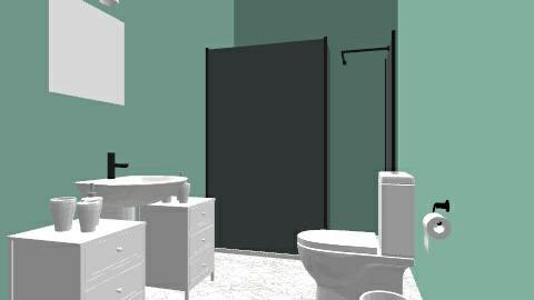 banheiro simples - Classic - Bathroom  - by johnatas