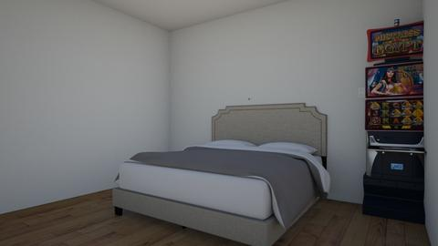 bedroom - by stuartmcdonald