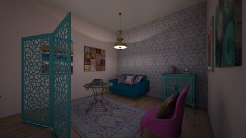 barcelona - Living room - by Katarina1999