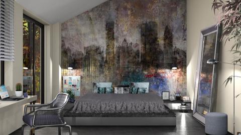 S_Bedroom Mural - Bedroom  - by Shajia