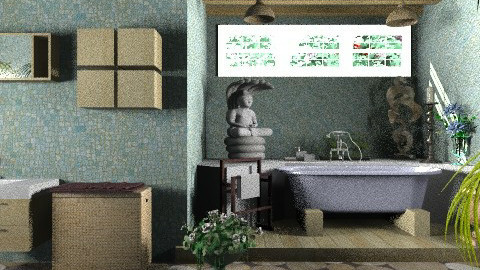 Bath1.... - Modern - Bathroom  - by KittiFarkas