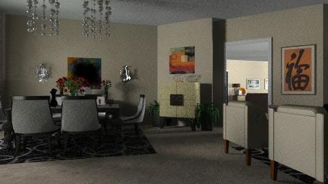 Muscati_Modern LiveDine2 - Modern - Living room - by pdsmatt