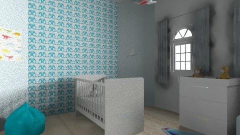 Baby Room  - Rustic - Bedroom  - by isabelleke