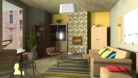City apartment - Eclectic - by mrschicken