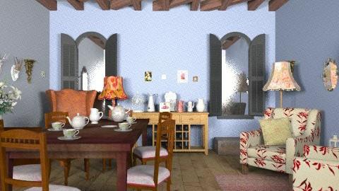 Vintage - Vintage - Living room  - by milyca8