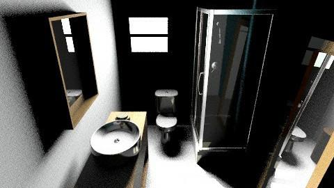 bathroom - Minimal - Bathroom  - by inesjf90