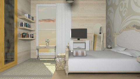 Cream - Feminine - Bedroom - by _Lisha_