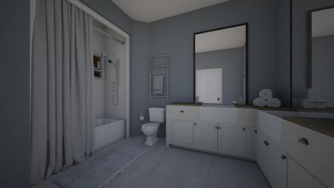 upstairs - Bathroom  - by ascc