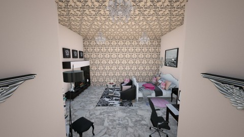 PINKANDBLACK - Bedroom - by marcolino999