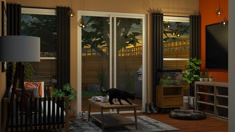 Garden template - Living room  - by Kendal Peterson