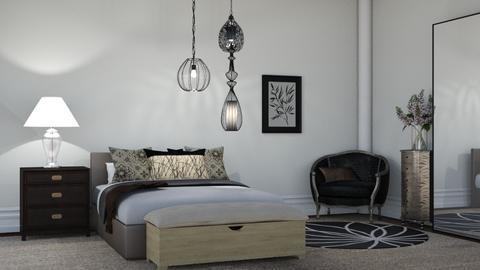 Elegant bedroom - Modern - Bedroom  - by Oyisha