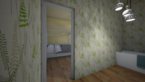 A peek through - Classic - Bathroom  - by Abby_Druery