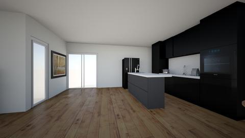 Zalmhaven 2 - Living room  - by hroerhorst