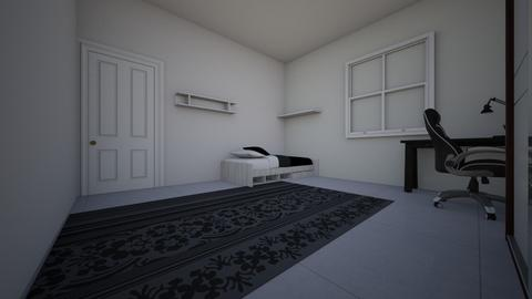 Simple bedroom - Bedroom  - by gblzinolv