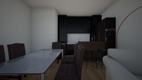 Obyvak - Living room  - by VendulaKovarova