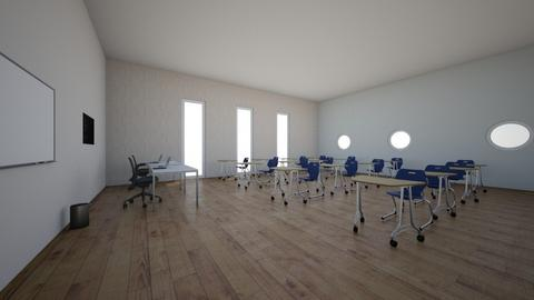 aula de clases - Office  - by cyerena119