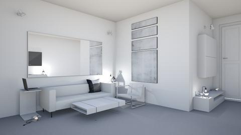 A Minimalist Living Room - by popovicso7