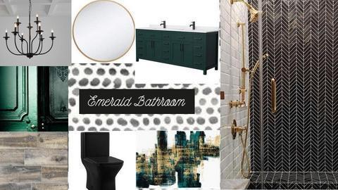 Emerald Bathroom - by amberezell8
